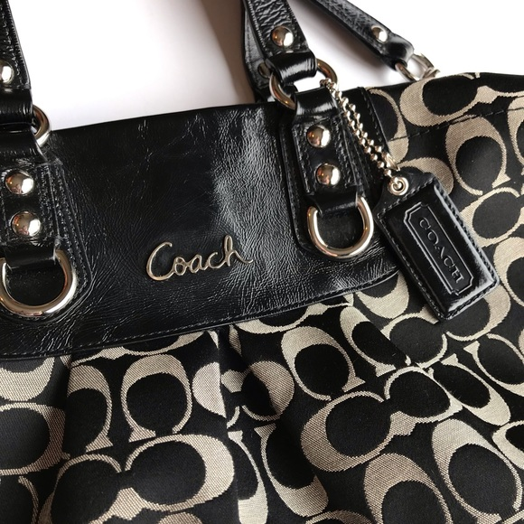 Coach Bags   Signature C Ashley Sateen Bag F15510 Euc   Poshmark c69a9ac224